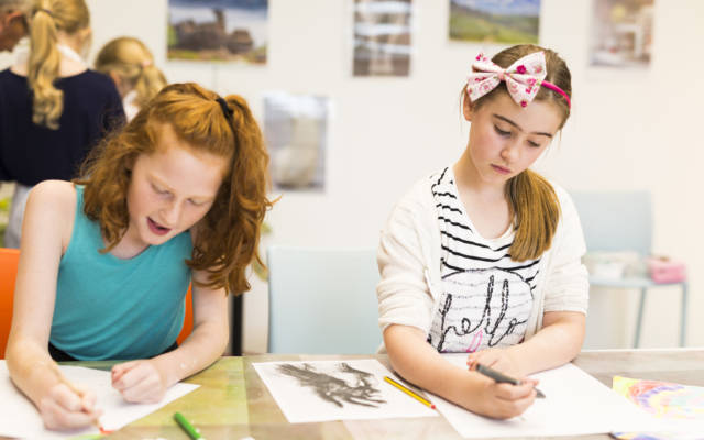 Half Term Art Workshops at The Hepworth
